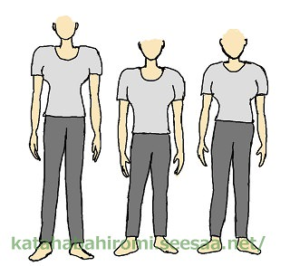 What inverted triangle women are not supposed to wear